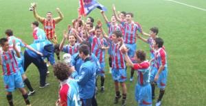 I giovanissimi del Catania vincono la Manchester United Premier Cup Italia