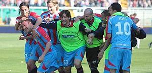 Uno splendido Catania batte 4-0 un inguardabile Palermo