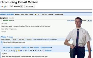 Google Gmail Motions, Pesce d'Aprile... video