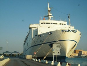 Immigrazione Lampedusa, arriva nel porto di Catania la nave Flaminia