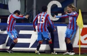 Catania calcio: al via con Suazo, Almiron, Legrottaglie e Bergessio