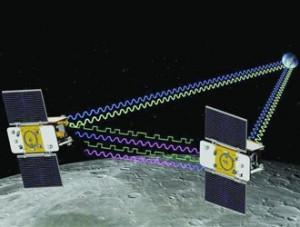 Sonde gemelle Grail in viaggio verso la Luna
