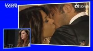 Pamela Francesco si baciano