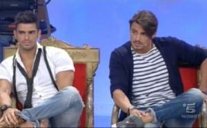 Uomini e Donne, trono blu Cristian e Francesco 02-12-2011