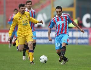 Catania-Fiorentina 1-0: basta un rigore di Lodi, etnei a 38 punti