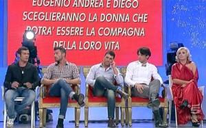 Uomini e Donne, anticipazioni nuova puntata registrata: Diego, Eugenio e Andrea [29/10/2012]