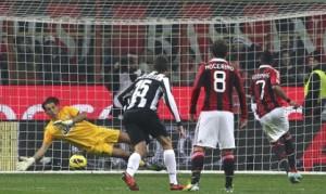 Milan-Juventus 1-0: gol, interviste e video della partita (Serie A 2012-13)
