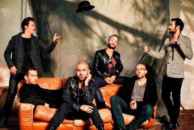 Negramaro - i 5 componenti della band - 2012