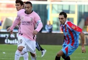 Palermo-Catania: diretta live 24 novembre 2012 (Serie A 2012-13)