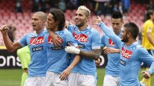 Serie A 2012-13, risultati 15a giornata: Inter batte Palermo, Napoli-Pescara 5-1