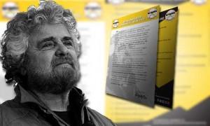 """Beppe Grillo per il Movimento 5 Stelle: """"Lettera agli italiani"""""""