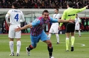 Catania-Inter 2-3: video dei gol e interviste Maran-Stramaccioni (Serie A 2012-13)
