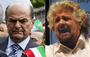 Bersani-Grillo, ancora un botta e risposta: il leader PD non rinuncia al finanziamento pubblico