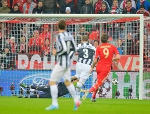 Bayern Monaco-Juventus 2-0: video gol e interviste (Champions League 2012-13)