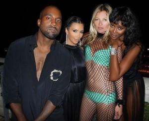 Kim Kardashian, Naomi Campbell e una super sexy Kate Moss