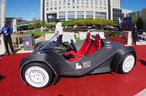 Automobile stampata in 3D, la prima è italiana