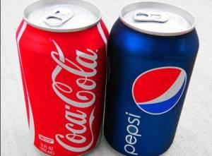 Coca Cola e Pepsi, presto meno calorie nelle bevande
