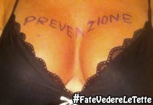 #FateVedereLeTette, impazza il selfie contro il tumore al seno