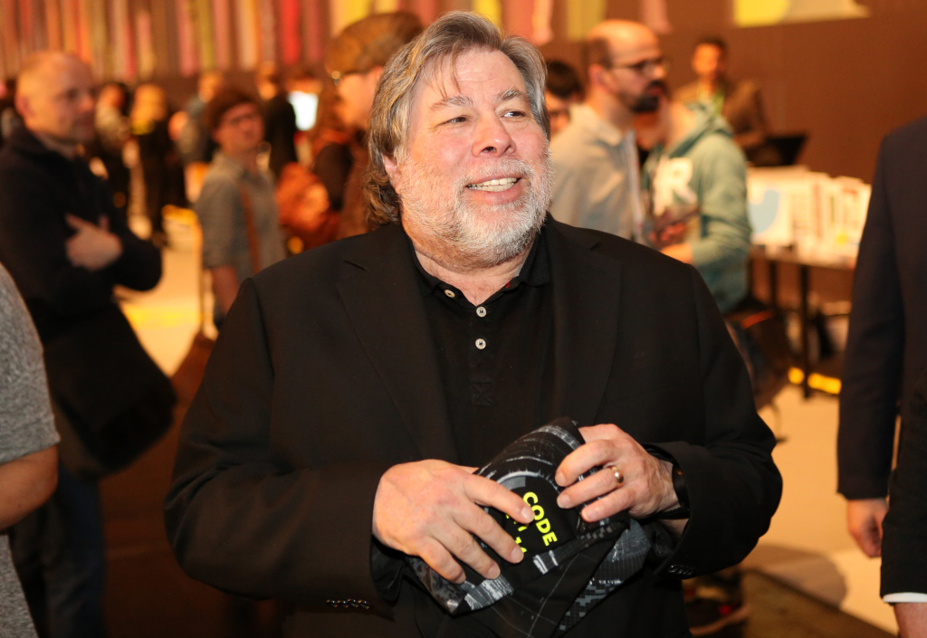Steve Wozniak a Milano rivela di aver salvato la Apple dal fallimento