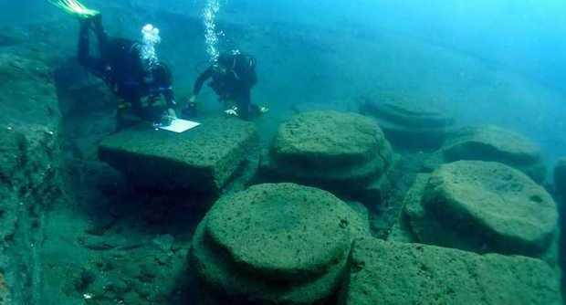 Isole Eolie, Lipari: scoperto nei fondali un antico Porto Romano (foto)
