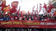 Cgil, Roma: un milione in piazza contro la politica economica di Renzi