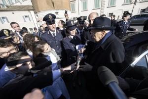 """Napolitano alla vigilia delle dimissioni: """"Contento di tornare a casa"""""""