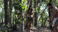 Cecilia Rodriguez e Brice Martinet si coprono con le foglie [foto]
