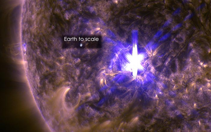 flare_earth_scale
