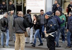 Strage al Tribunale di Milano: funerali di Stato per le vittime