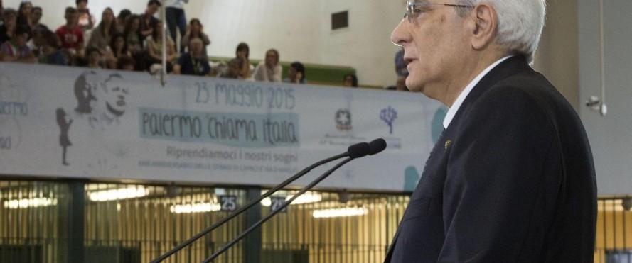 """Calcioscommesse, Mattarella: """"E' un cancro da estirpare"""""""