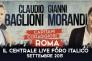 """Baglioni e Morandi in """"Capitani coraggiosi"""": 10 concerti al Foro Italico"""