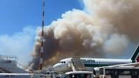 Fiumicino: incendio di origine dolosa manda in tilt l'aeroporto