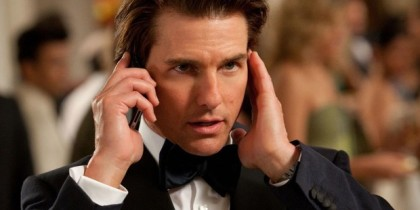 """Tom Cruise nel quinto episodio della saga """"Mission: Impossible"""""""