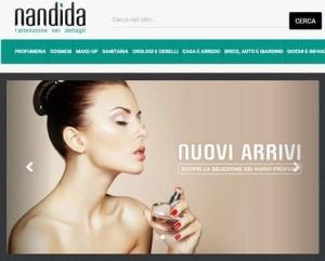 Nandida.com, il nuovo e-commerce made in italy su bellezza, wellness e moda