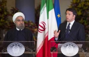 """Iran, incontro Matteo Renzi-Hassan Rohani: """"Follia dire che tutti gli islamici sono terroristi"""""""