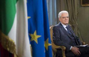 """Mattarella sull'Ue: """"Periodo dominato dall'incertezza e dalla paura verso l'integrazione"""""""