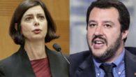 """Salvini e la bambola gonfiabile: """"Sosia della Boldrini"""". Bufera in politica"""