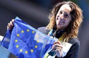 """Portavoce Ue: """"Quello di Di Francisca un bel gesto che sottolinea il ruolo positivo dello sport"""""""