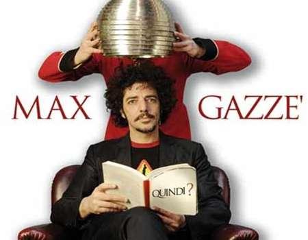 Max Gazze: il 01 dicembre alle Ciminiere...