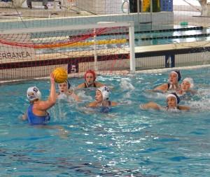 Serie A1 femminile di pallanuoto, Formoline Catania - Mediterranea Imperia 19-9