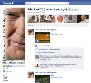 Papa Wojtyla, beatificazione: è boom iscritti su Facebook