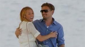 Leonardo Di Caprio flirta con Blake Lively di Gossip Girl