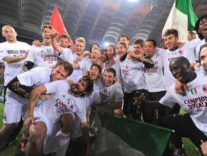 Il Milan si laurea Campione d'Italia 2010-11