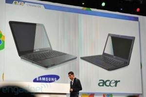 Google presenta ChromeBook, il portatile con sistema operativo Chrome