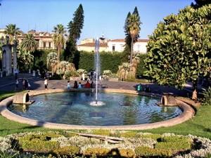 Catania: wi-fi alla villa Bellini