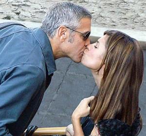 Canalis-Clooney: dopo un litigio la rottura
