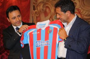 Calcio Catania presentazione 2011-12, Pulvirenti: Puntiamo a superare i 50 punti