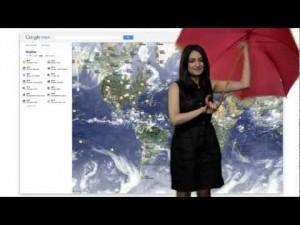 Google, su Google Maps sbarcano le previsioni meteo