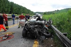 Incidente autostradale sulla A26, muoiono 4 persone