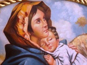 Licata: una Madonna lacrima sangue, il parroco smentisce